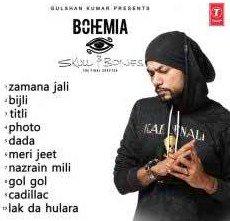 Skull & Bones Punjabi Album By Bohemia