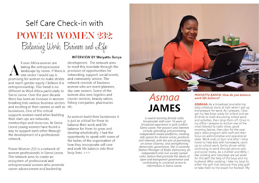 Self Care Checkin with Power Women 232