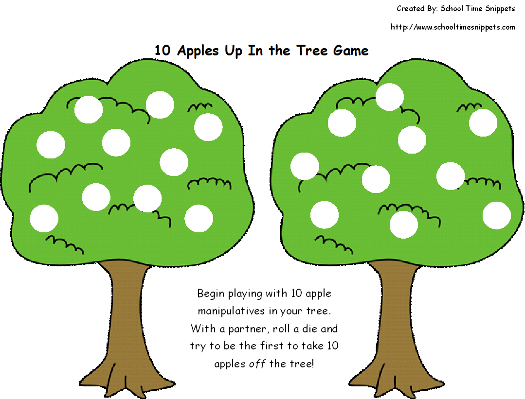 6 Toddler Activities Inspired By 10 Apples Up On Top