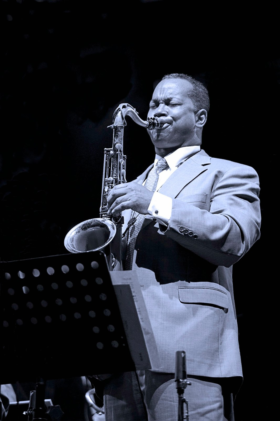 Víctor Goines Quartet en el ciclo New York Jazz All Stars 2014
