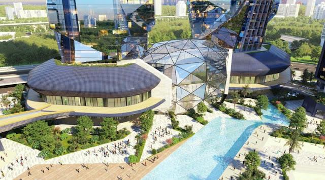văn phòng dự án Sunshine Empire Ciputra Hà Nội tower phạm văn đồng