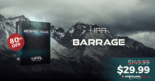 Barrage Audio Plugin Deals