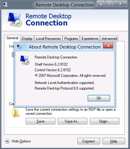 The Microsoft Platform: Remote Desktop Client in Windows 8