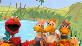 Elmo sings Elmo's Ducks. Sesame Street The Best of Elmo 2