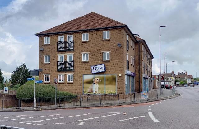 The former Blockbuster Video Express in Filton, Bristol