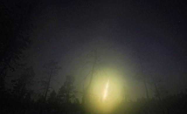 Piedra Cósmica surca el cielo nocturno de España