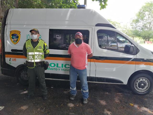 HOYENNOTICIA.COM, Preso en fundación lo encuentran viajando por carreteras del Cesar
