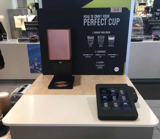 Mcdonald S Tests Self Serve Mccafe Coffee Kiosk Brand Eating