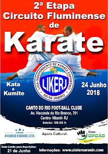 Circuito Fluminense de Karate - 2ª Etapa