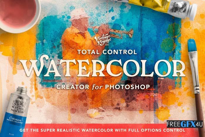 Total Watercolor Creator