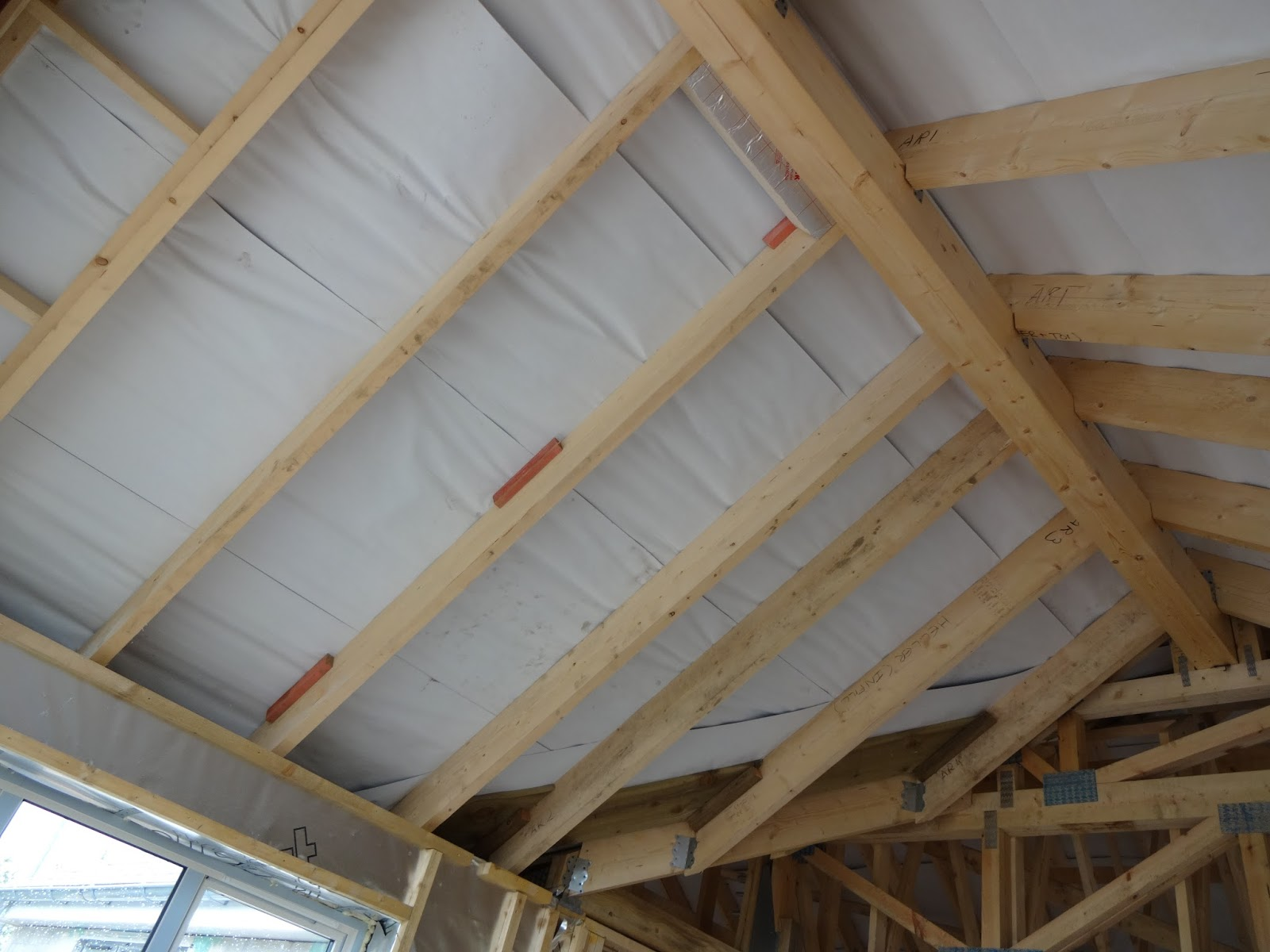 V Amp A S Home Build Boarding Ceilings First Floor Vaulted