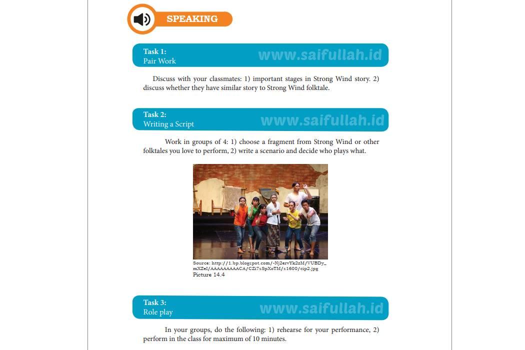 Terjemahan Soal Chapter 14 Halaman 190 Task 1, 2, dan 3