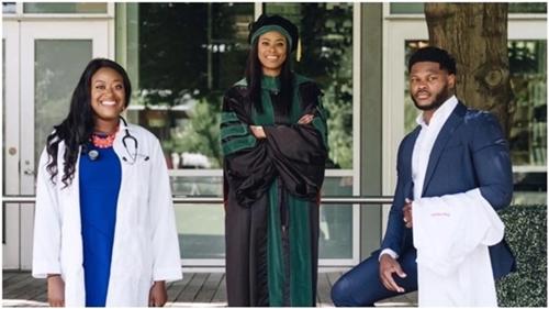 3 Nigerian Siblings Realize Their Dreams Of Becoming Doctors In US