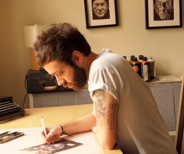 Реалистичные рисунки шариковыми ручками. Mark Powell 39