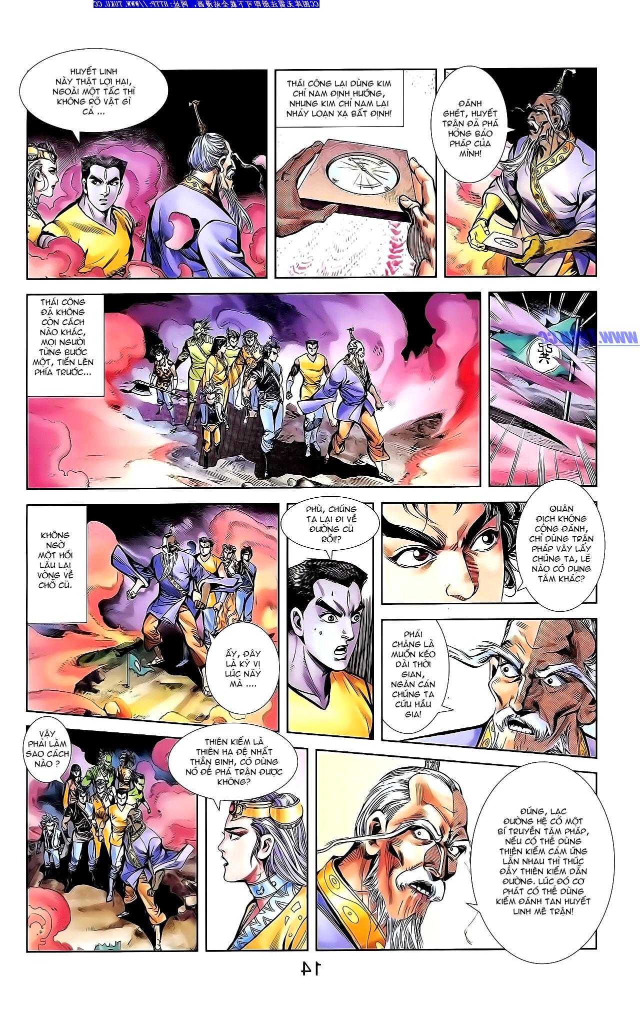 Cơ Phát Khai Chu Bản chapter 142 trang 23
