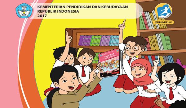 Download Buku Guru dan Siswa Kurikulum 2013 SD MI Kelas 4 Semester 1 Revisi Terbaru
