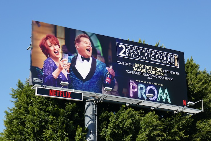 Prom Golden Globe nominee billboard