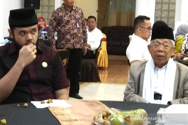 Disemprit Bawaslu, UIN Padang Batalkan Diskusi Ilmiah Ma'ruf Amin