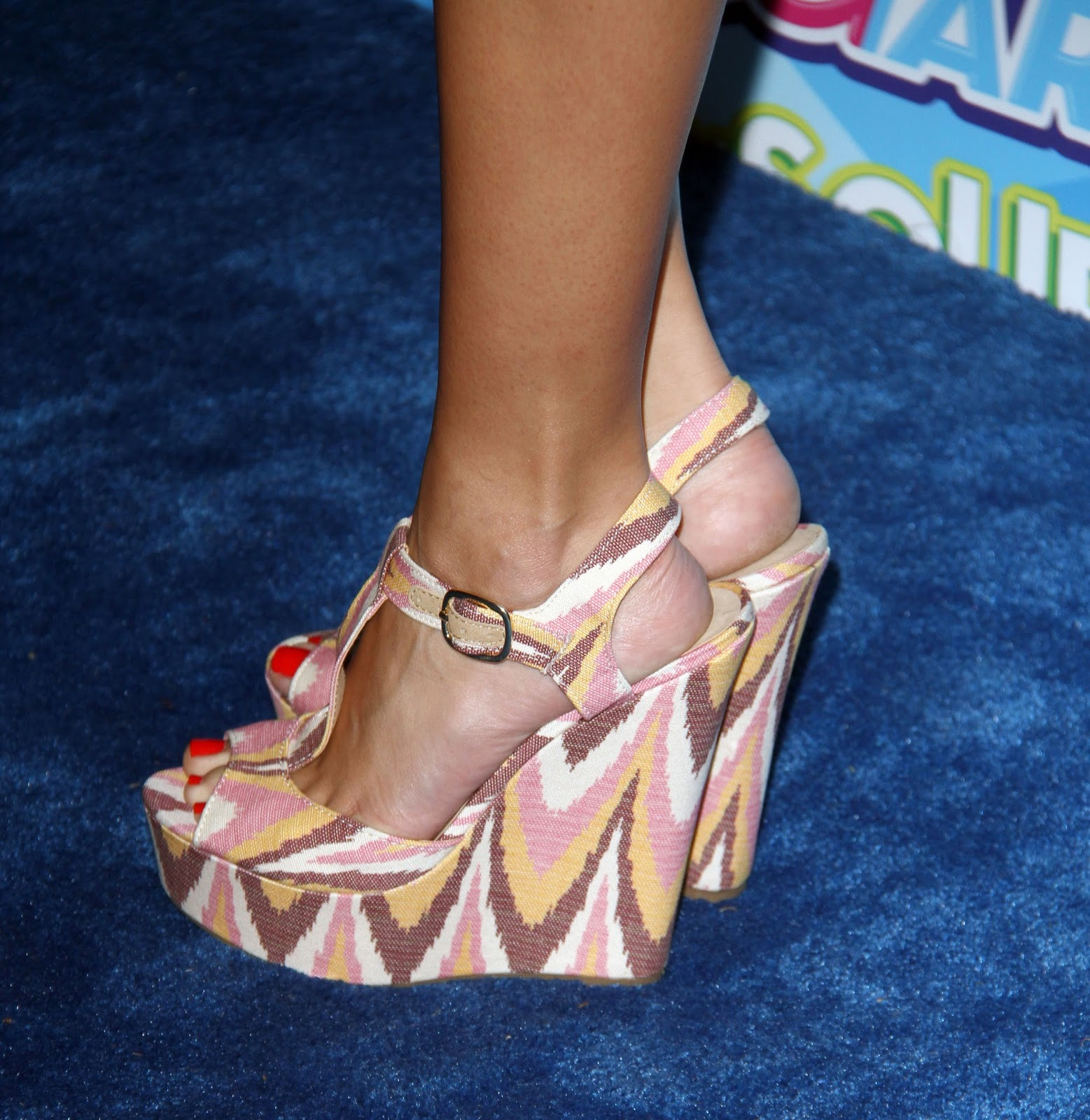 Celebrity Feet Chloe Bridges