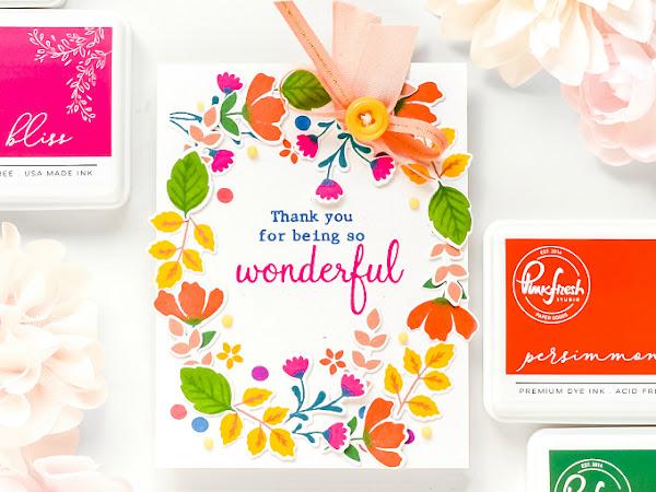 Pinkfresh Studio Ink Pad Release Blog Hop - Introducing Pinkfresh Premium Dye Ink