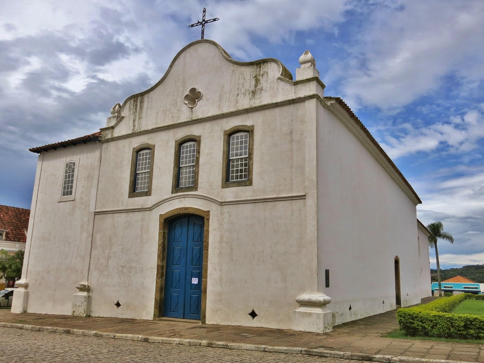 Igreja da Matriz no Centro Histórico da Lapa, no Paraná.