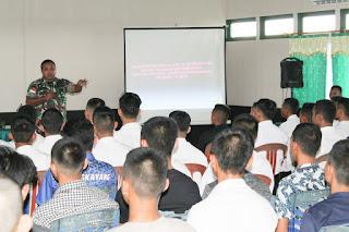 Dandim 1202/Skw Beri Arahan kepada Peserta Seleksi CABA PK TNI AD