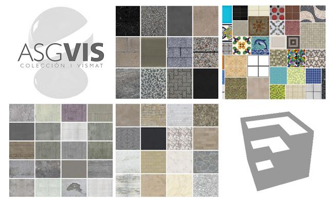 Componentes y Materiales para SketchUp y V.ray