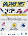 Sesc PR realiza o Dia D da 3ª edição da Campanha Sesc de Material Escolar