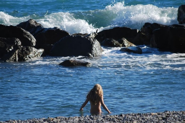 spiagge libere in Liguria