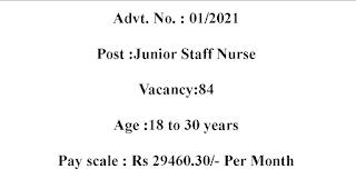 Staff Nurse Jobs with 30,000 Salary per month