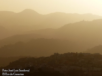 Desde el  lunes día 7 de junio se espera en Canarias la presencia de calima en altos niveles, hasta el 10 ó 11 de este mes, José Luis Sandoval