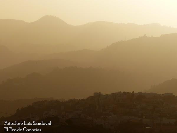 Calima en altos niveles en Canarias desde el lunes 7 de junio 2021