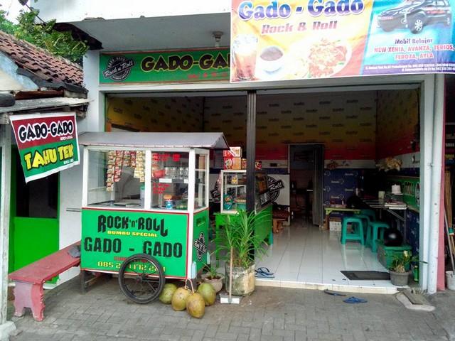 Gado-gado Rock n Roll, Sensasi Gurih Kuliner di Kota Probolinggo
