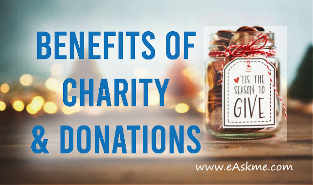 5 Benefits of Charity and Donations: eAskme