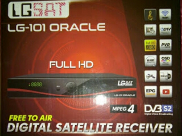 Spesifikasi dan Harga Receiver LGSat LG-101 HD Oracle