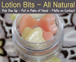 DIY All-Natural Lotion BIts