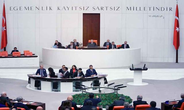 البرلمان التركي : انطلاق الجلسة الطارئة لمناقشة مذكرة تفويض رئاسية من أجل إرسال قوات إلى ليبيا