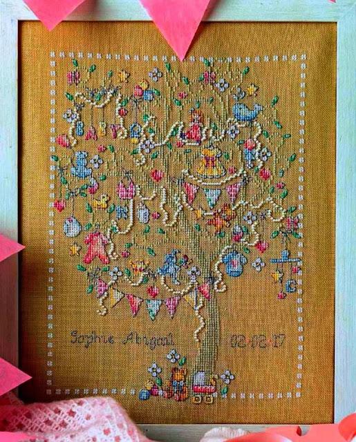 wzory haftów krzyżykami