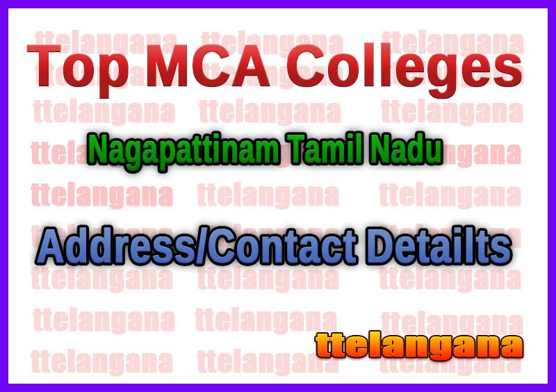 Top MCA Colleges in Nagapattinam Tamil Nadu