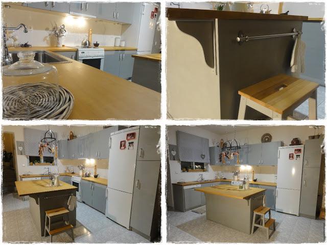 Μεταμόρφωση Κουζίνας με Paris Grey 12 Annie Sloan Greece