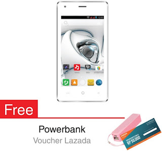 Evercoss Winner T Ultra Android Murah RAM 2 GB Rp 800 Ribuan (Bonus Powerbank)