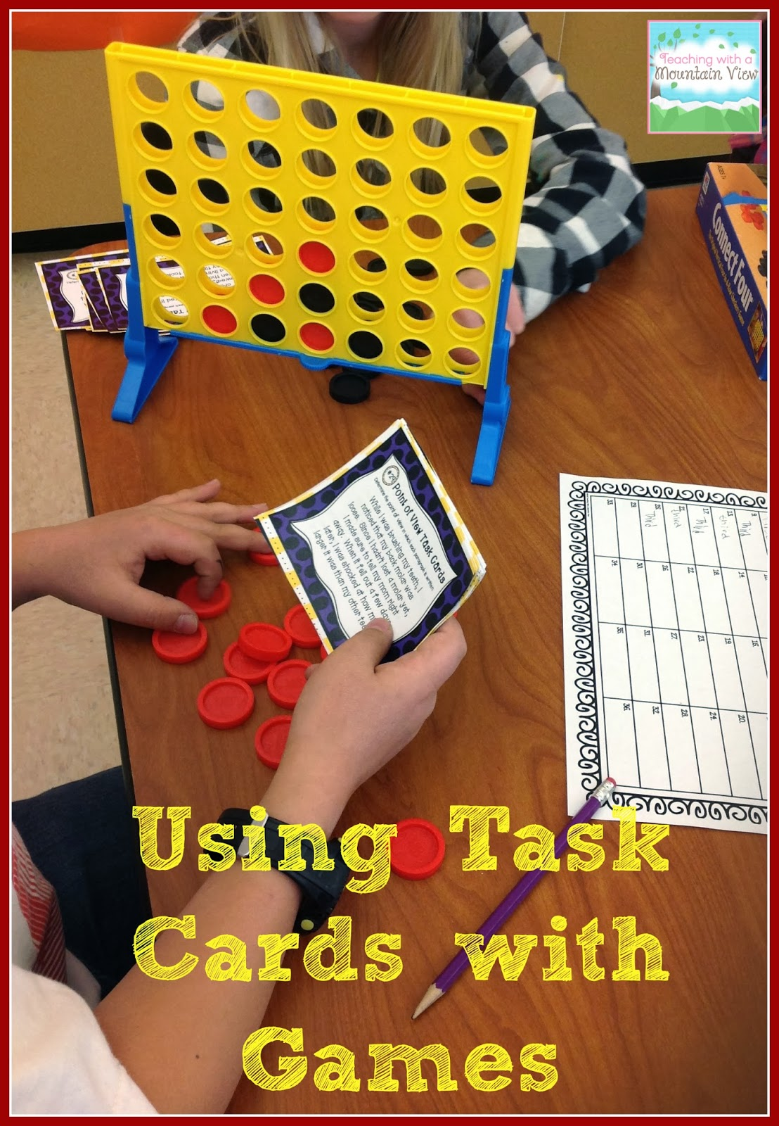 Task Card Corner Using Board Games To Engage Students With Task Cards