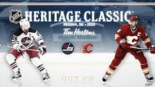 HOCKEY HIELO - El NHL Heritage Classic 2019 se celebrará en Regina entre Jets y Flames