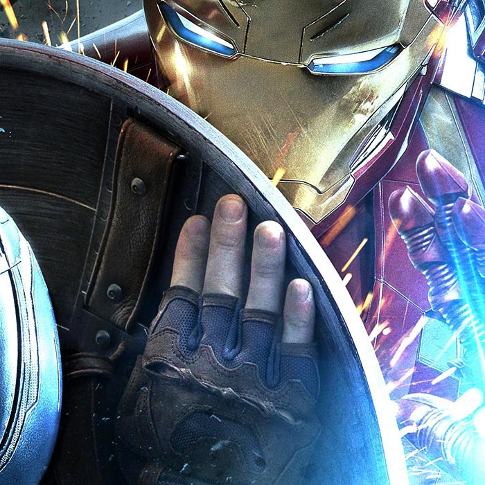 Captain America Vs Ironman Wallpaper Engine Download Wallpaper