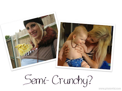 crunchy mom, semi-crunchy mum, babywearing, cloth nappies