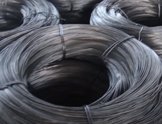 Wire nail making raw material