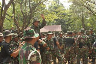 Kompi Markas (Macan) Juara Menembak Antar Kompi Yonif Para Raider 433/JS