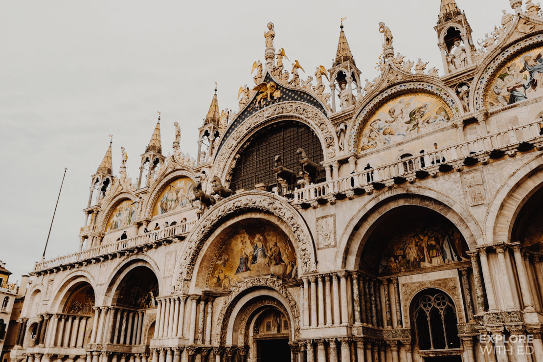 Saint Mark's spectacular Basilica, the square is sometimes referred to as the drawing room of Europe