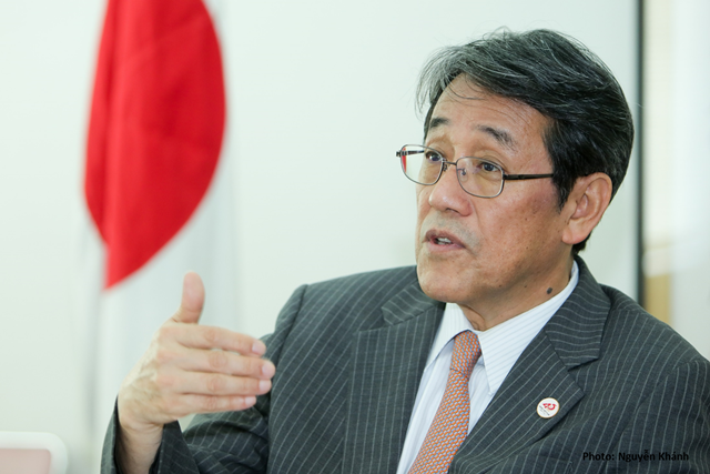 Umeda Kunio - Đại diện Đại sứ quán Nhật Bản tại Việt Nam