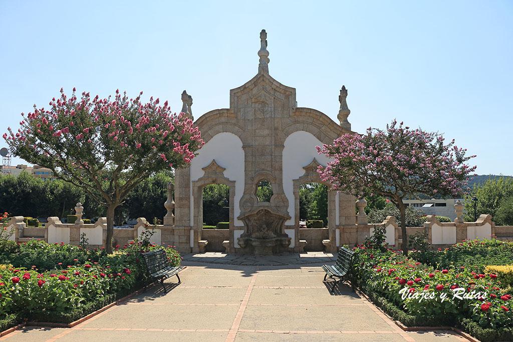 Jardim das barocas de Barcelos
